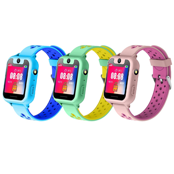 S6 Children smartwatch LBS positioning locator tracker SOS Voice Chat Anti Loss monitor waterproof smart watches Kids Gift 6