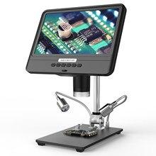 Andonstar – Microscope numérique AD208S 5X-1200X avec écran LCD, 1280x800, 1080P réglable pour le soudage