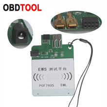EWS3 EWS4 Test Platform Rechargeable for BMW & for Land Rover PCF7935 chip or EML electronic chip key complete program or not
