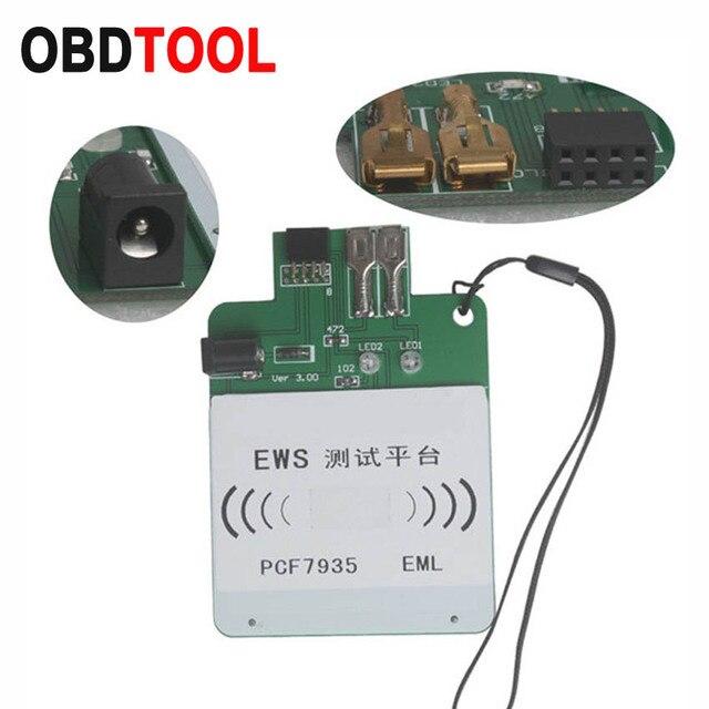 Ews3 ews4 plataforma de teste recarregável para bmw & para land rover pcf7935 chip ou eml eletrônico chip chave programa completo ou não