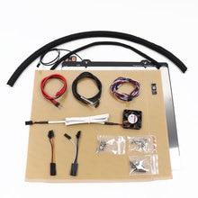 Prusa i3 mk2/mk2s per MK2.5 kit di aggiornamento con MK52 12V riscaldata letto Noctua ventola PINDA V2 sonda prusa i3 mk2.5 heatbed kit