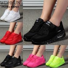 New Designer Korean White Platform Sneakers Casual Shoes