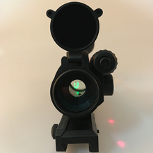 Высокое качество интегрированный зеленый точечный прицел с красным лазером для Nerf с 7 см рельс/водные гелевые бусинки Замена бластера