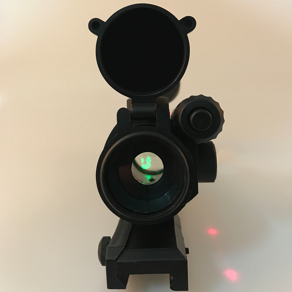 Supper Quality Integrated Green Dot Scope Sight With Red Laser For Nerf With 7cm Rail /for Water Gel Beads Blaster Replacement