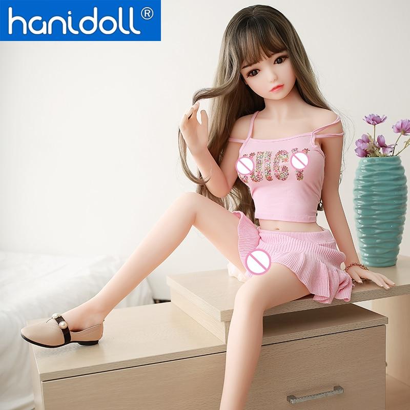 Hanidoll silicone sexo bonecas 115cm mini anime boneca sexo masculino amor realista bunda tpe real adulto pequeno loli boneca sexo para homem