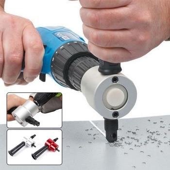 Metal Sheet Cutter Metal Cutting Sheet Double-head Blade Punching Hole Saw Cutting Machine Cutting Tool Drill Bit Accessory