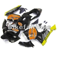 Fairings for Honda CBR600RR 03 04 Body Kits Cowls Body Frames ABS Plastic Motor Cycle 2003 2004 F5 Black Orange Yellow Panels