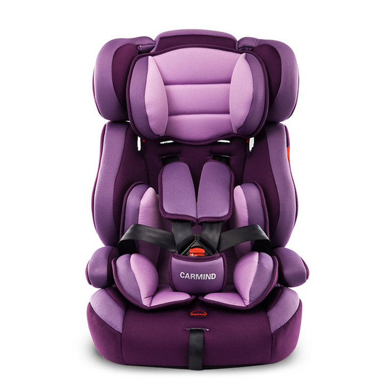 Baby Booster Car Seat Child Safety Chair Car Seat For Baby Universal Sit And Lie Isofix Five-point Harness  Folding Seats