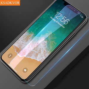 Full Cover Glass on the For iPhone 7 8 6 6s Plus 5 5S SE 2 11 Pro Tempered Glass For iPhone X XS Max XR Screen Protector(China)