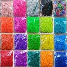 Métier à tisser bandes de caoutchouc bracelet pour enfants ou cheveux bandes de métier à tisser en caoutchouc faire tissé coloré bracelet bricolage jouets noël 2020 cadeau