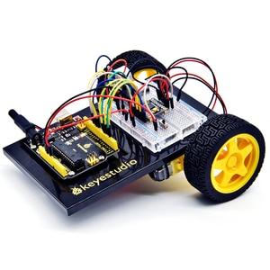 Image 5 - Keyestudio في نهاية المطاف كاتب عدة/سيارة روبوت عدة لاردوينو المخترع الصغير (صفر القائم على التعلم الروبوت اردوينو)