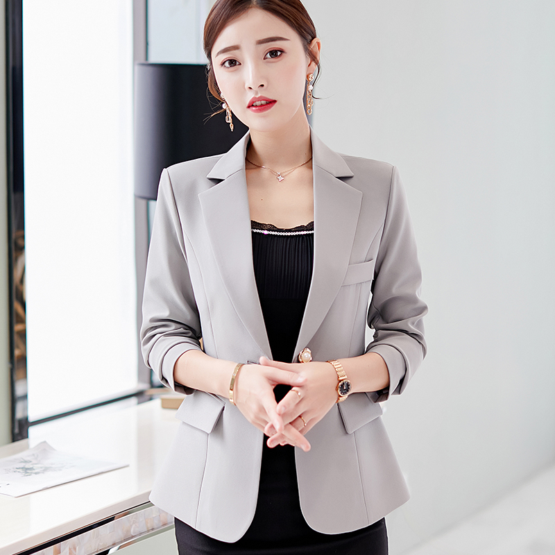 Office Jacket And Coats For Women Spring Autumn OL Lady Casual Blazers Chaqueta Mujer Casaco Jaqueta Feminina Formal Business