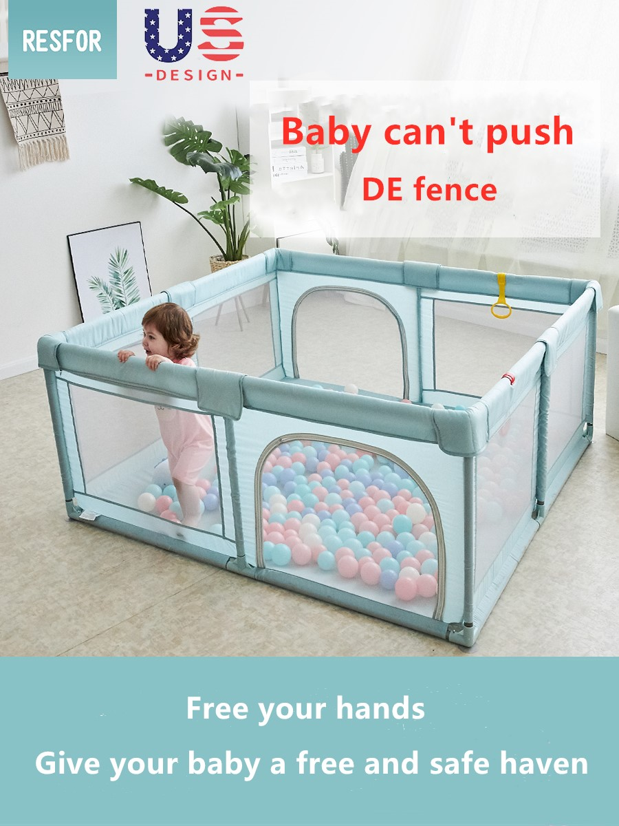 0-3 Years Old Children's Play Fence Baby Indoor Safe Home Playfence Toy Easy Folding Playpen