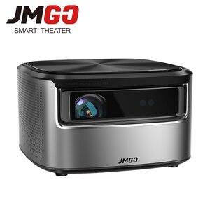 Image 1 - JMGO N7 projektor Full HD, 1300 ANSI lumenów, 1920*1080P. Inteligentne kino domowe Beamer. Obsługa projektora 4K, 3D