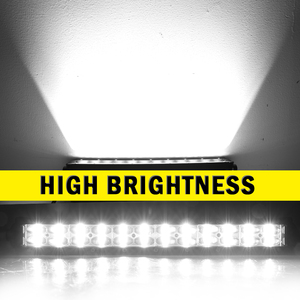 Image 3 - שיתוף אור 6D Offroad בר אור 36W 72W 120W 180W Slim LED עבודה אור LED בר עבור טרקטור סירת לאדה 4WD 4x4 משאית SUV טרקטורונים 12V 24V