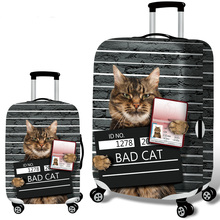 New suitcase case elastic dust cover luggage case for 18~30 inch password box trolley case Couples personality protective covers july s song new suitcase elastic dust cover luggage case for 18 32 inch password box trolley case cat pattern protective cover