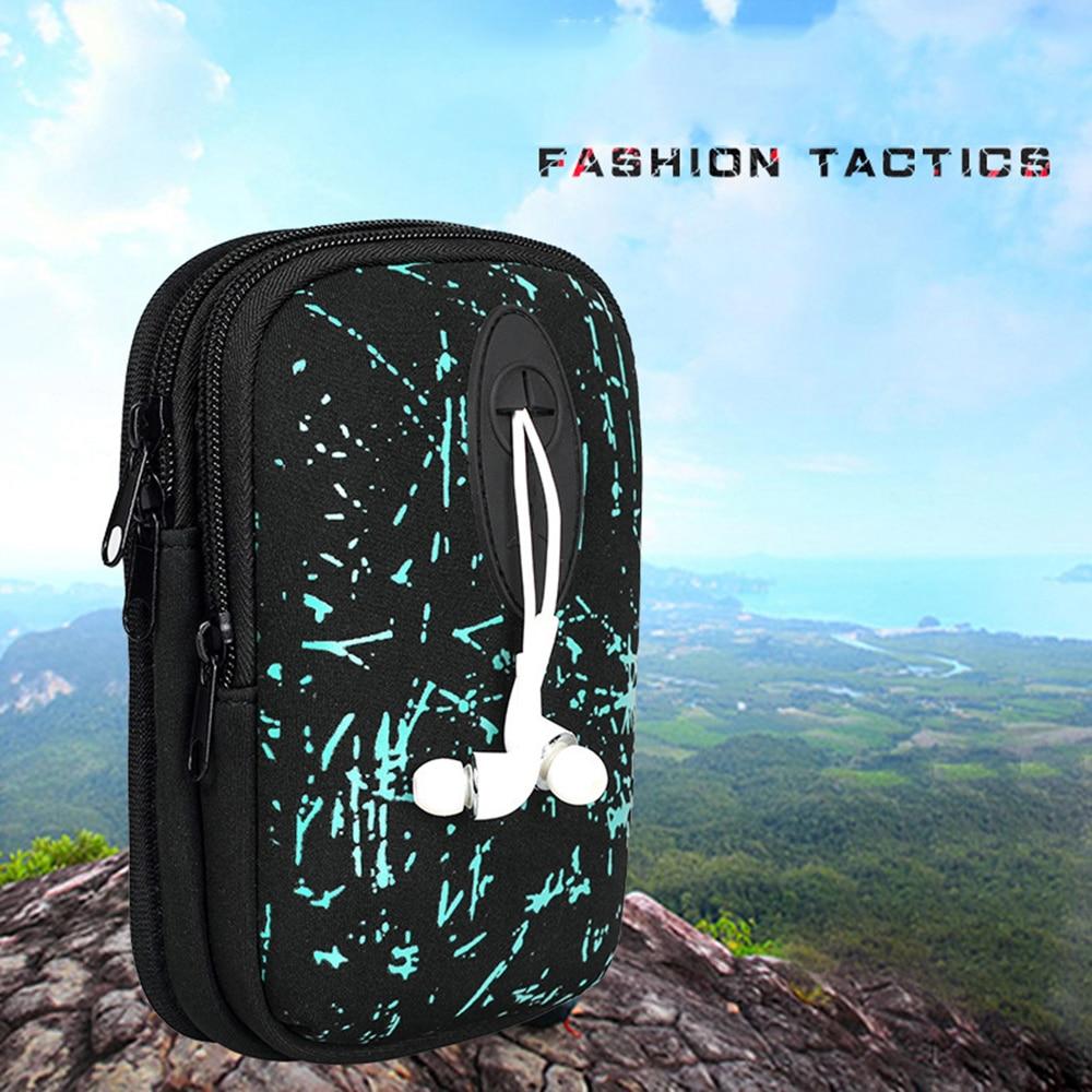Outdoor Sport Bag Men Waist Belt Bags Mobile Phone Bag For Running Hunting Tennis Outdoor Mini Leisure Pockets Dropshipping