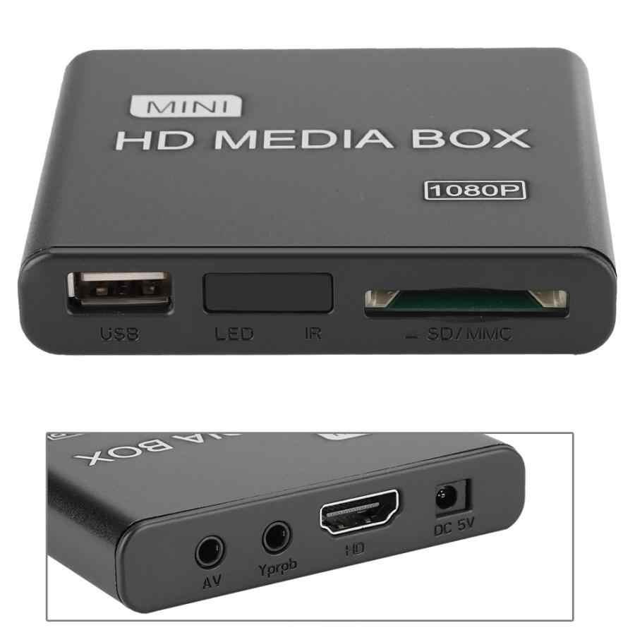 K8 1080P البسيطة شبكة مشغل فيديو HDMI HD الناتج فك قرص صلب لاعب 100-240V فك