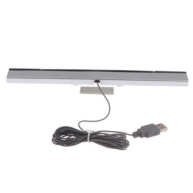Game accessories/Wii Sensor Bar Wired Receivers IR Signal Ray USB Plug Replacement for NS Remote