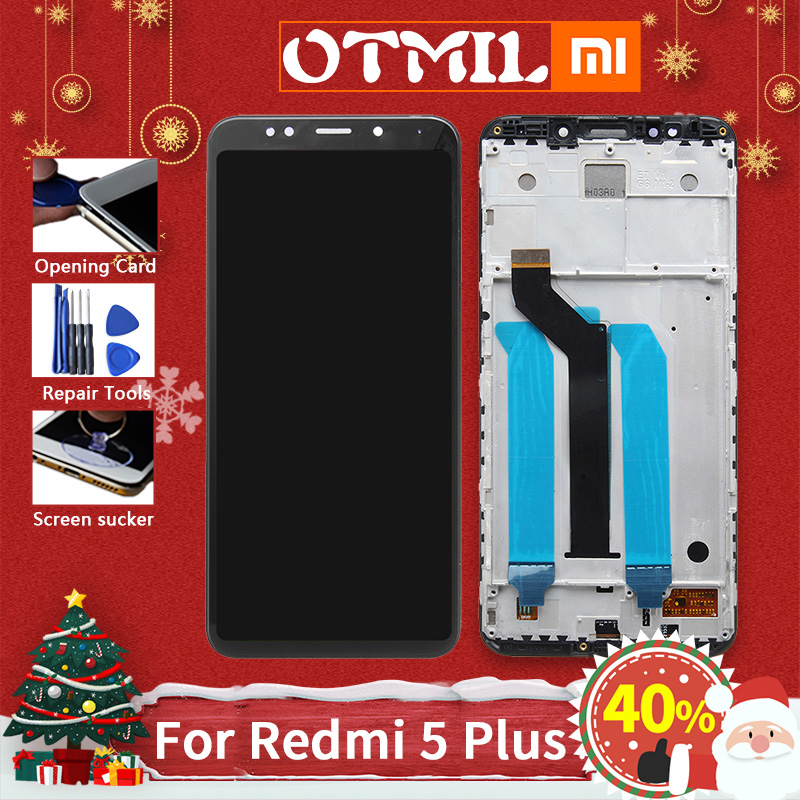 Original For Xiaomi Redmi 5 Plus OTMIL LCD Display Touch Screen Digitizer Replacement title=