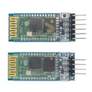 Image 2 - 50pcs/LOT HC05 HC 05 HC06 HC 06 JY MCU anti reverse, integrated Bluetooth serial pass through module, HC 05 master slave 6pin