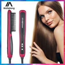 Hair-Comb Electric-Splint Smoothing Heating Ceramic Professional Magic