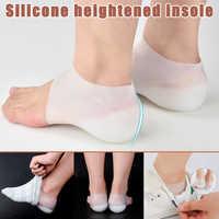 1 paar Invisible Höhe Lift Ferse Pad Socke Liner Erhöhen Einlegesohle Schmerzen Zu Lindern Für Frauen Männer Top Qualität Sohle Zapatos de Mujer