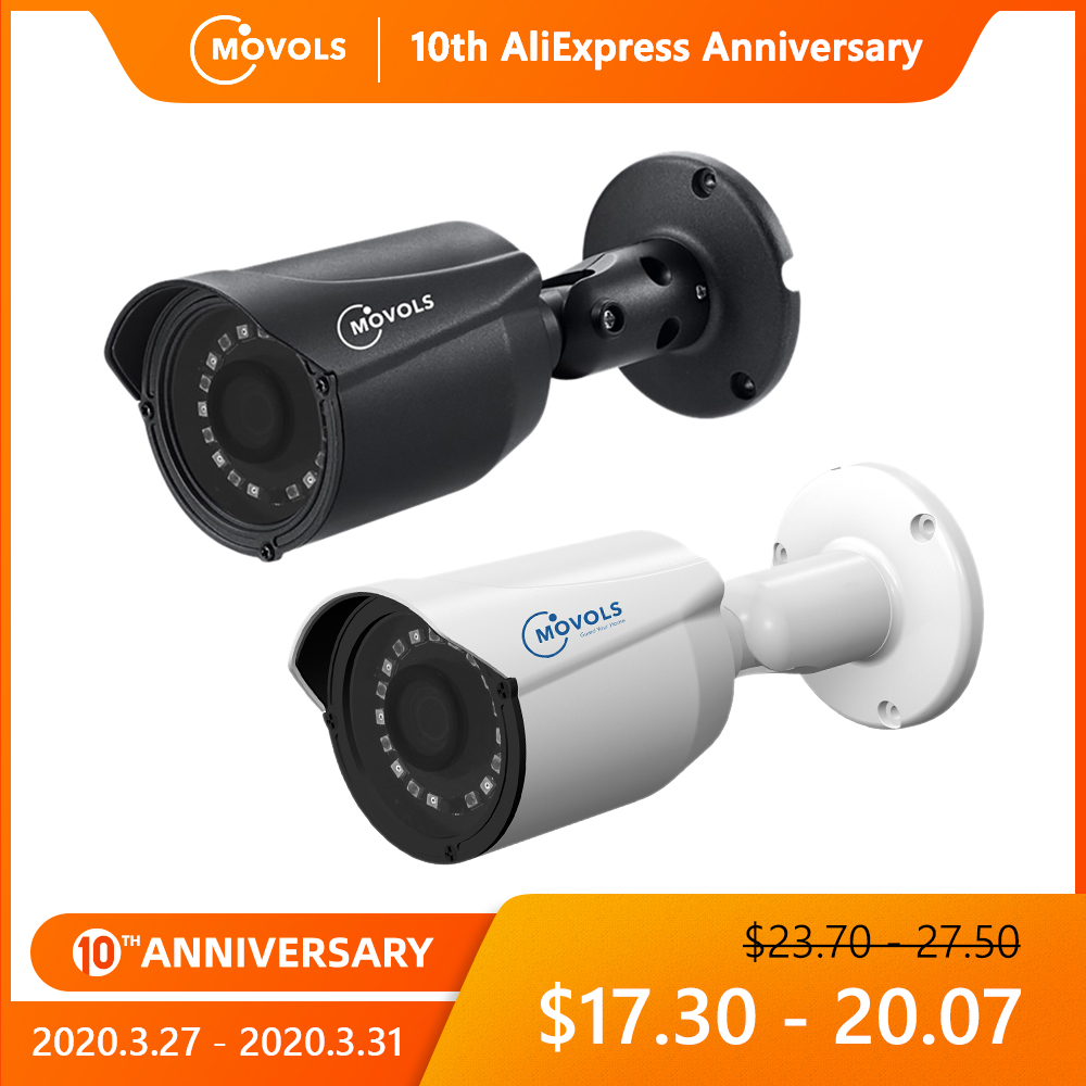 MOVOLS Security Camera Outdoor Waterproof Camera 1080P AHD / TVI / CVI/CVBS CCTV Analog Camera Sony Sensor Varifocal Room Bullet