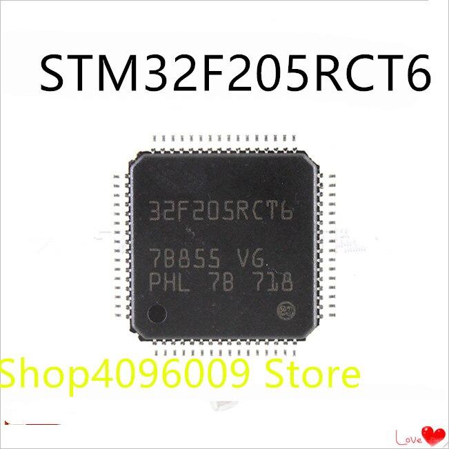 NEW 10PCS/LOT STM32F205RCT6  32F205RCT6 LQFP-64