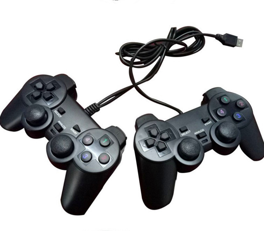 Factory Direct Selling USB Computer Wired Handle PC Doubles Handle of Wired Game Console Smart Television Handle