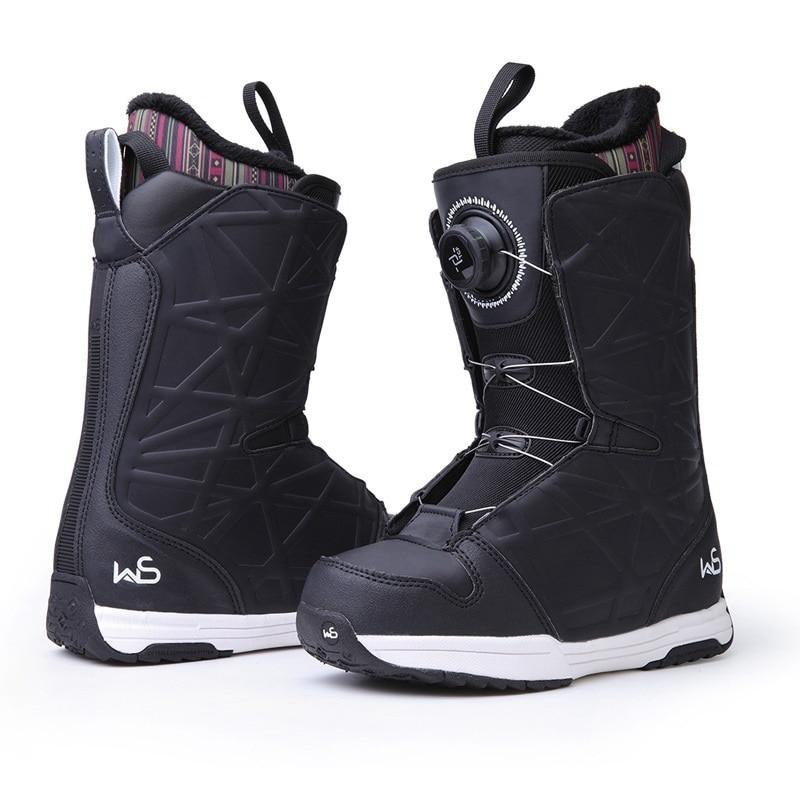 Snow-Shoes Ski-Boots COPOZZ Women Winter Warm Ski-Equipment Non-Slip Professional