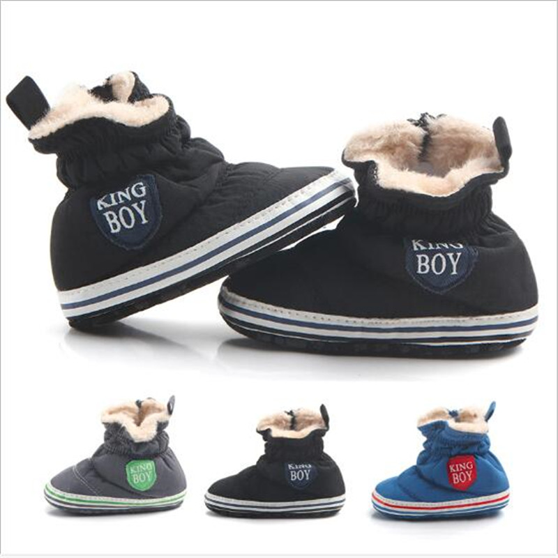 Super Warm Baby Shoes Soft Booties Infant Snow Boots Toddler Newborn Comfortable Crib Shoes Baby Cotton First Walkers
