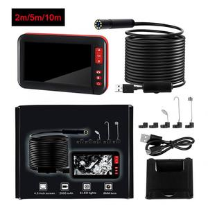 4.3 in 1080P HD Multi-Language Waterproof industrial Inspection Borescope Monitor Endoscope Camera F200 Screen Endoscope