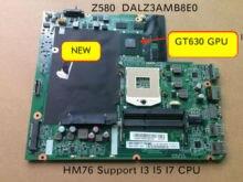 Placa de placa do portátil original para lenovo ideapad z580 dalz3amb8e0 gt630m placa de vídeo