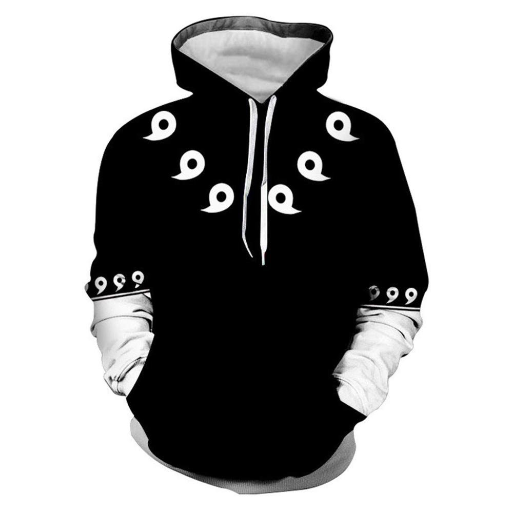 2019 Anime Cosplay Hooded Sweatshirts Harajuku Tops Men/Women Casual Hoody  Uzumaki Naruto Uchiha Sasuke 3D Hoodies Fashion Coat