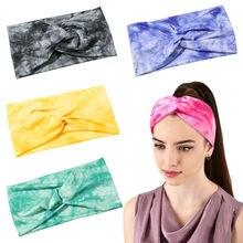 Хлопковая повязка на голову для девушек и женщин эластичные