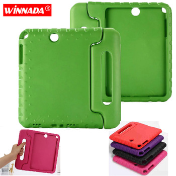 цена на For Samsung Galaxy Tab A 9.7 Inch T550 T555C Kids Cover Safe Handle Shockproof Case EVA Foam Shakeproof Stand Protective Cover