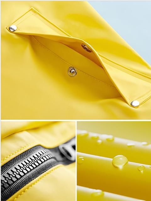 Long Body Rain Coat Women Yellow Raincoat Men's Waterproof Outdoor Rain Poncho Women's Pink Windbreaker Jacket Hiking Gift Ideas 5