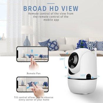 Smart Wifi Auto Tracking Human Cloud Camera 1080P Wireless IP Camera Home Security Surveillance CCTV Network