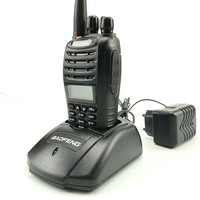 "vhf uhf 2pcs Baofeng UV-B5 קל נייד ווקי טוקי רדיו UHF VHF Dual Band Ham Radio רדיו Comunicador Talkie Walkie 50 ק""מ (5)"
