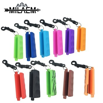 Silica Gel Archery Arrow Puller Target Gripper Hand Protection Remover Keychain Outdoor Shooting Accessories