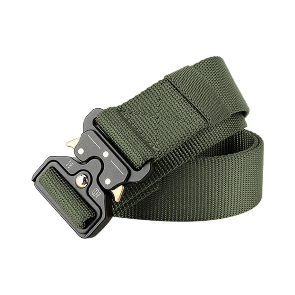 И Нейлоновый тактический ремень армейский ремень мужские ремни для тренировок на открытом воздухе черный высококачественный легко разбло...