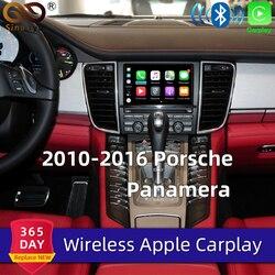 Aftermarket OEM PCM 3.1 bezprzewodowa modernizacja apple carplay na lata 2010-16 Porsche Panamera Cayenne Macan Cayman Boxster 911 Car play