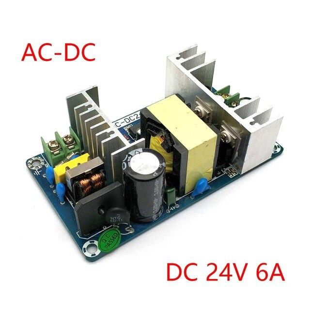 AC 100 240V כדי DC 24V 6A 9A מיתוג אספקת חשמל מודול AC DC