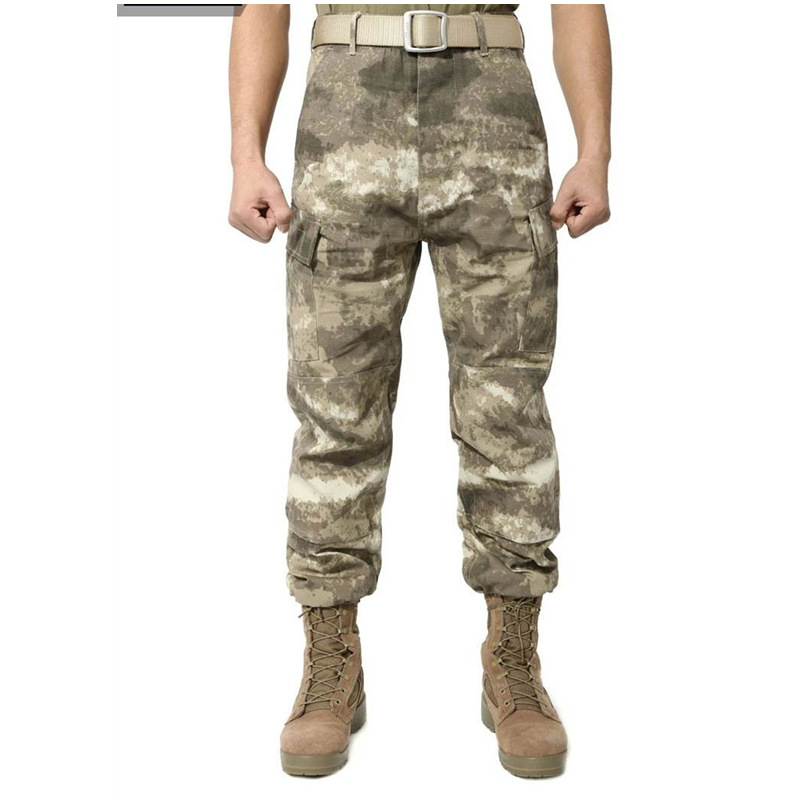 Trousers Pants Hunting Outdoor ACU Men Cargo Army War-Game Camouflage