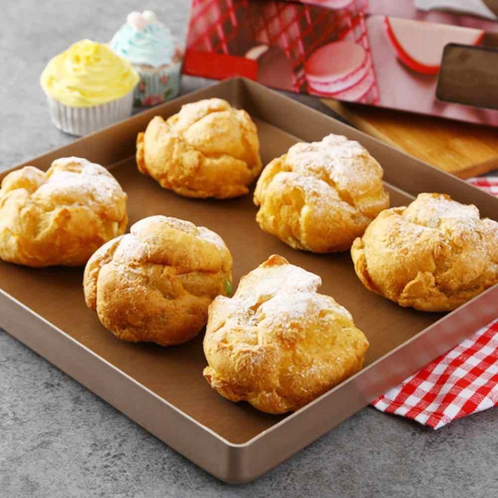 Teflon calor imprensa almofada reutilizável cozimento esteira não vara ofício folha resistente ao calor fácil de limpar bbq grill & cozimento esteiras macarons