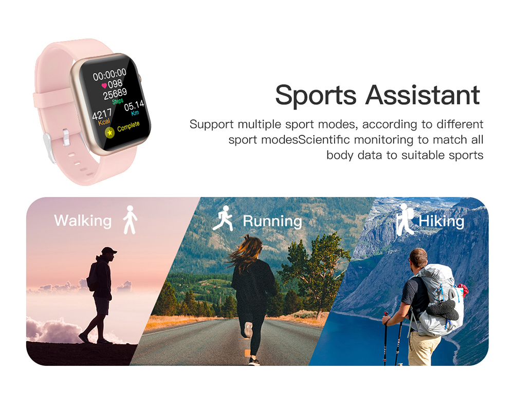 COLMI P9 Unisex Smart Watch IP67 Waterproof for iOS Android Phones 11