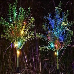 Image 3 - Solar Lamp Zonlicht Led Solar Licht Voor Tuin Decoratie Gazon Verlichting/Kerstboom Lamp/Outdoor Waterdichte Solar Tuin licht