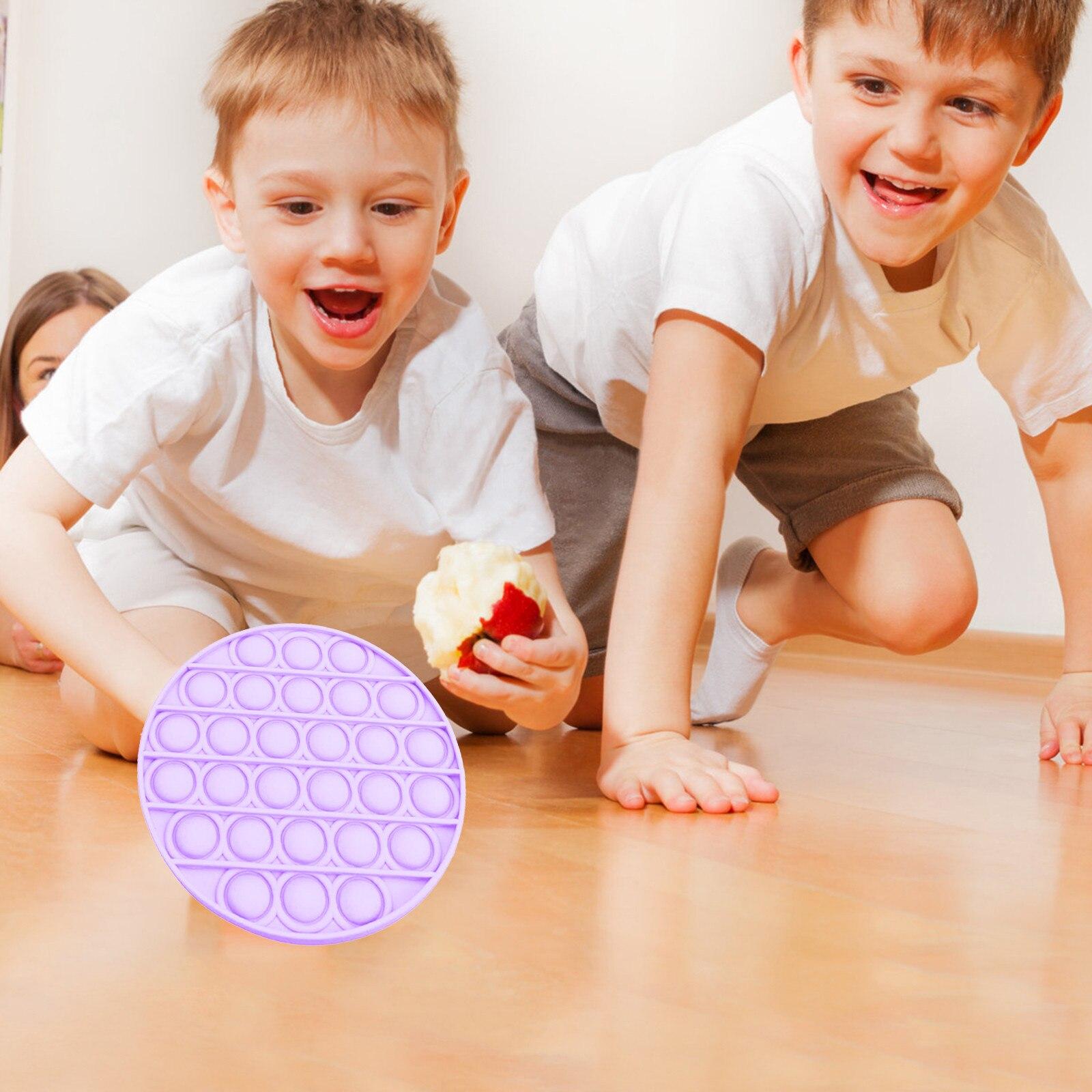 Toy Bubble-Fidget Fidget-Sensory Toy-Stress Relief Adult Glow-In-The-Dark Push Kids img5