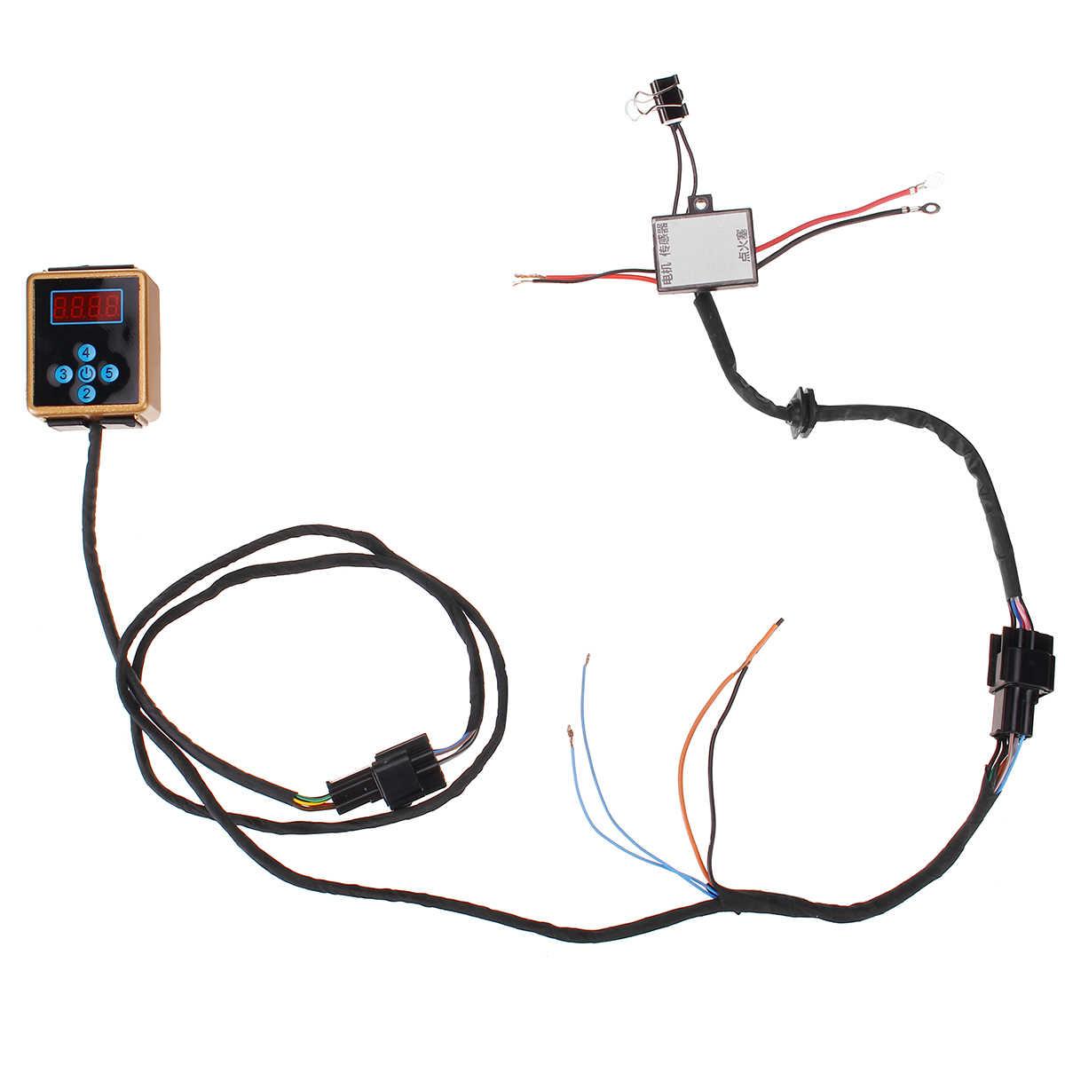 Contrôleur universel de carte mère de contrôle de Circuit de 12V 24V 1 à 8kw pour le chauffage de stationnement d'air